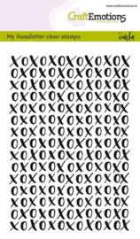 Handletter XOXO - Clearstamp