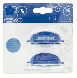 Spare Blades for Trimmer - 2pcs blauw