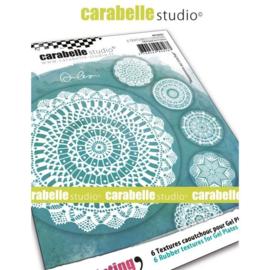 Textures Coasters - Gehaakte kleedjes