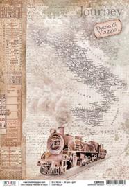 Diario di Viaggio - Rijstpapier A4