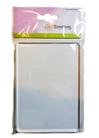 Acrylic Clear Stamp Block - A6 105x148mm - 8mm