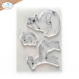 Woodland Critters - Clearstamp
