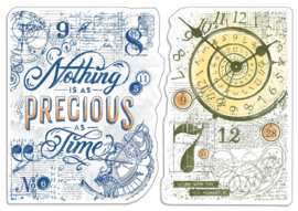 Nothing is as Precious as Time - Clearstamp