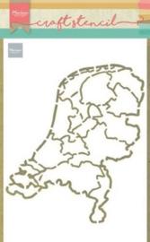 Nederland - Mask Stencil