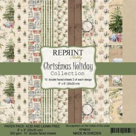 """Christmas Holiday Collection - 8x8"""""""