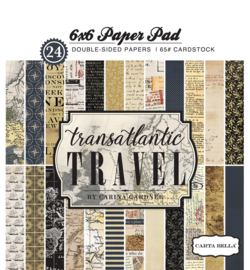 "Transatlantic Travel - 6x6"""