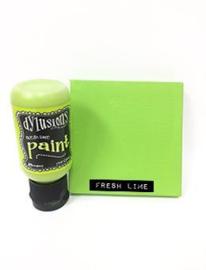 Fresh Lime - Dylusions Paint Flip Cap Bottle