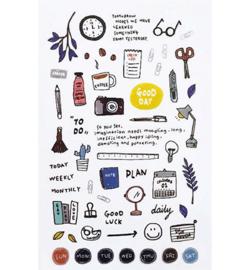 Daily - Mini Stickers