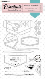 Jeans Planner Essentials nr 54 - Stamp & Die-cut