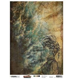 Just Lou Exploration Collection nr.03 - Rijstpapier A4
