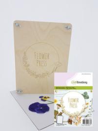 Flower Press / Bloemenpers - Hout