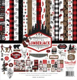 "Let's Lumberjack - 12x12"""