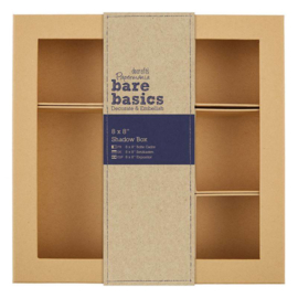 "Bare Basics Shadow Box - 8 x 8"""