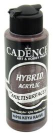 Donkerbruin - Hybride Acrylverf