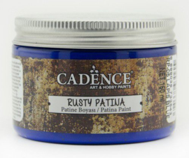 Lapis Blue - Rusty Patina