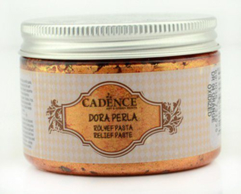 Oranje Oxide - Dora Perla Metallic Reliëf Pasta