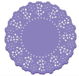 Doilies Lilac- 10 pcs