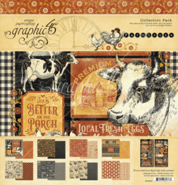 """Farmhouse - collection pack - 12x12"""""""