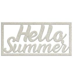 Hello Summer - Chipboard