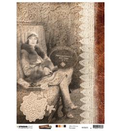 Just Lou Exploration Collection nr.02 - Rijstpapier A4