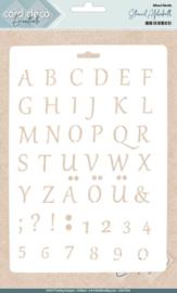 Alphabet - Stencil