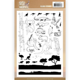 Wild Animals Outback - Clearstamp A5