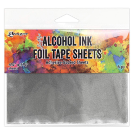 """Alcohol Ink Foil Tape Sheets - 4,25 x 5,5"""""""