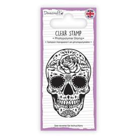 Sugar Skull - Clearstamp
