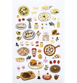 Food - Mini Stickers