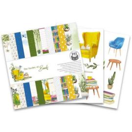 "The Garden of Books - 6x6"""