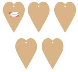 Mini Album Heart   - MDF