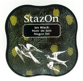 StazOn Inktkussen Midi Gothic Jet Black