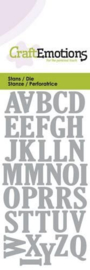 Upperclase Alphabet - Stans