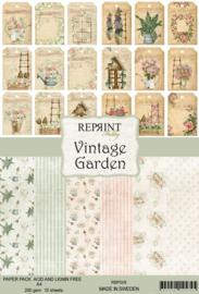 Vintage Garden - A4