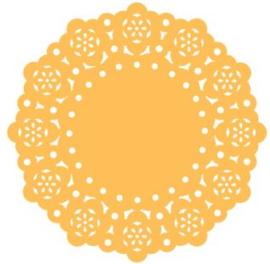 Doilies Tangerine - 10 pcs