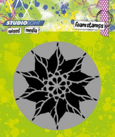Mixed Media nr 01 Flower - Foamstamp