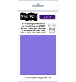 Wow! Fabulous Foil Violet