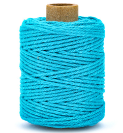 Koord Cotton Fijn Turquoise