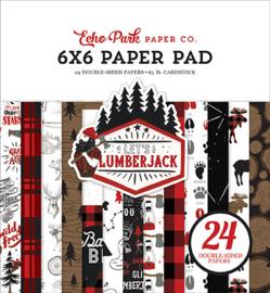 "Let's Lumberjack - 6x6"""