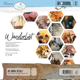"Wanderlust - 12x12"""