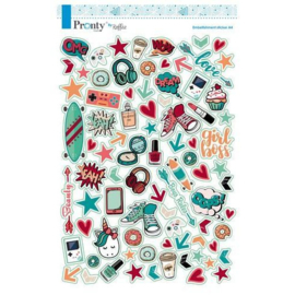 Pretty & Cool - Stickervel