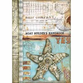 Sea Star - Rijstpapier A4