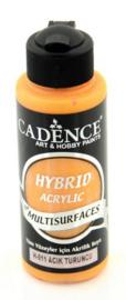 Lichtoranje - Hybride Acrylverf