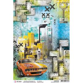 High Speed Circuit - Rijstpapier A4