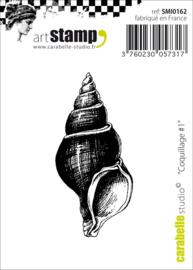 Coquillage #1 - Mini Clingstamp