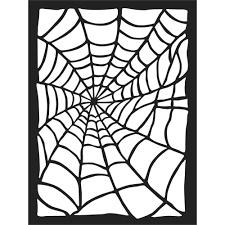 Spider Web - Stencil