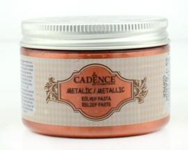 Koper - Metallic Reliëf Pasta