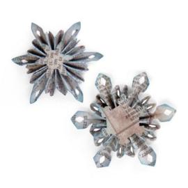 Mini Snowflake Rosette - Stans