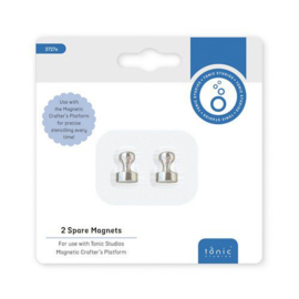 2 Magneten voor Magnetic Platform