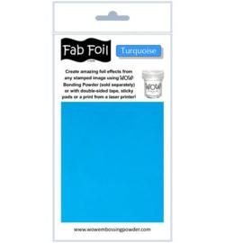 Wow! Fabulous Foil Turquoise